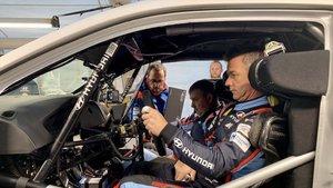 Loeb, por primera vez al volante de Hyundai