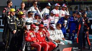 Parrilla de la F1 de la temporada 2018