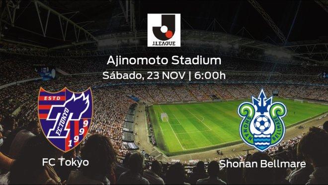Previa del encuentro: el FC Tokyo recibe al Shonan Bellmare en la trigésimo segunda jornada