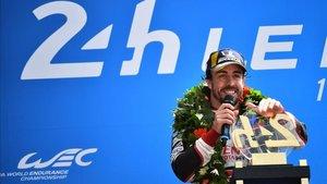 Alonso quiere repetir victoria en las 24 Horas de Le Mans