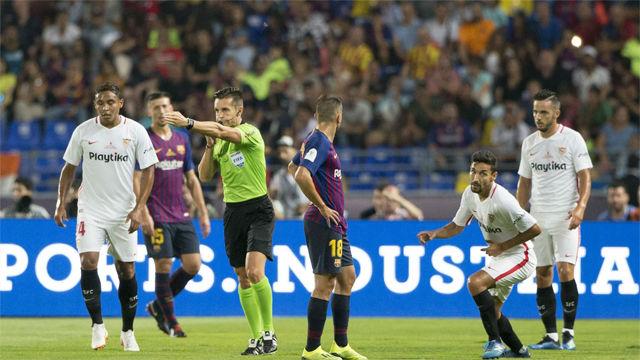 Así narró la radio el gol de Sarabia con VAR incluido