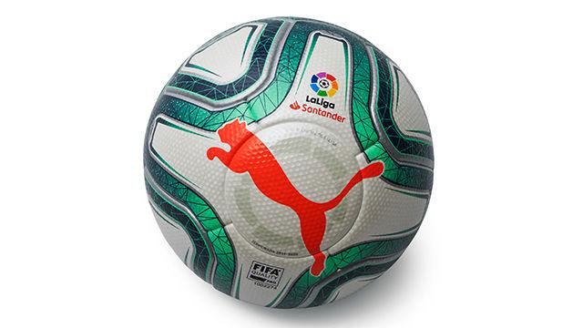 Así es el nuevo balón de LaLiga