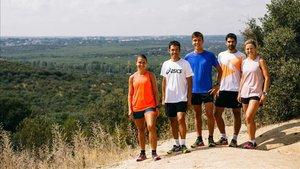 ASICS incorpora a tres trailrunners en su equipo de montaña