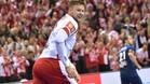 El azulgrana Kamil Syprzak hizo un partidazo y marcó seis goles sin un solo fallo