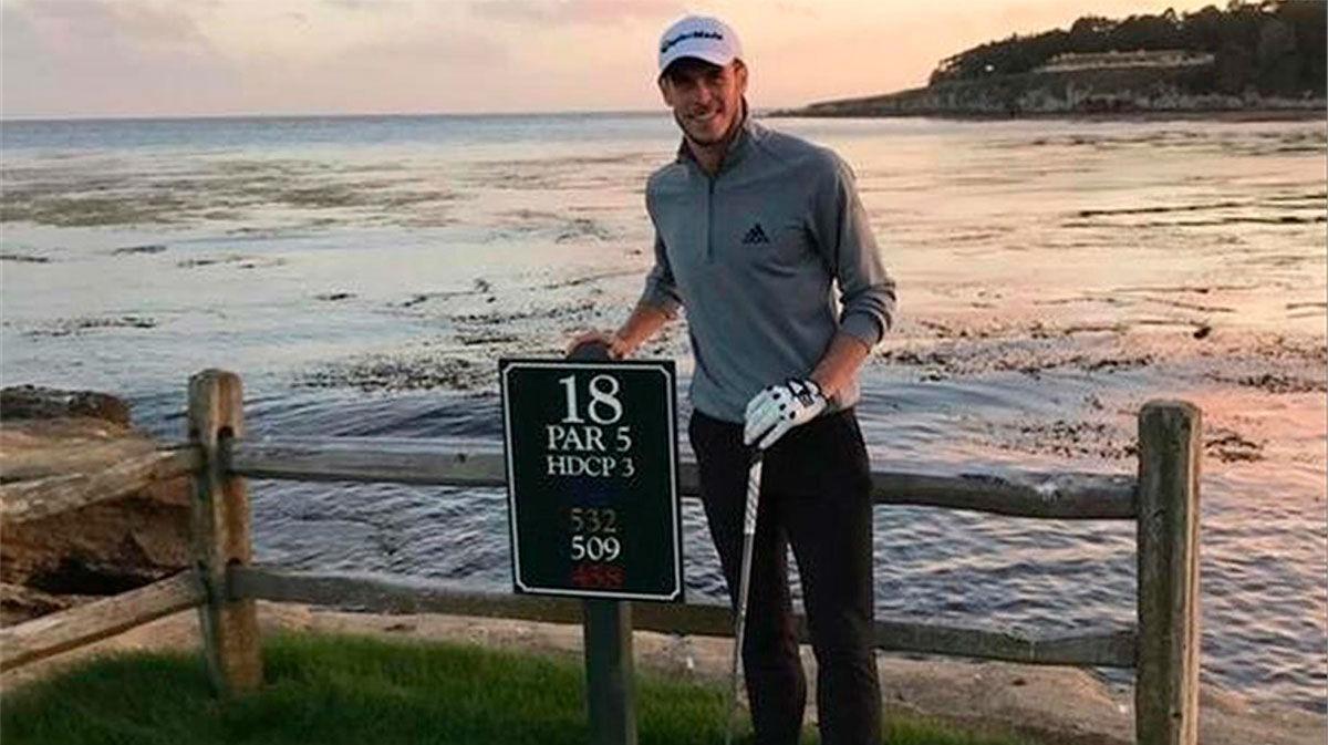Bale: Mucha gente tiene problemas con el hecho de que juege al golf