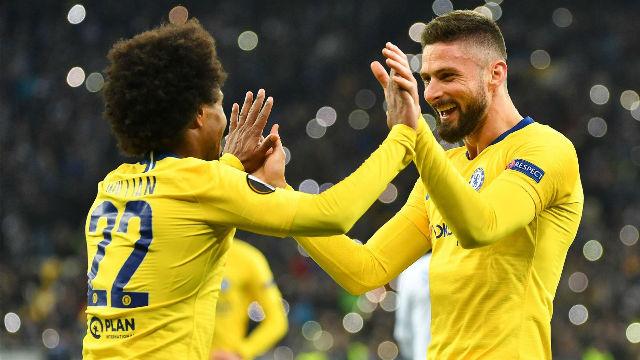 El Chelsea cumple su trámite en Kiev