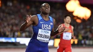 Coleman, nuevo recordman de los 60 metros