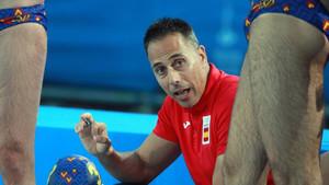 David Martín, seleccionador nacional masculino