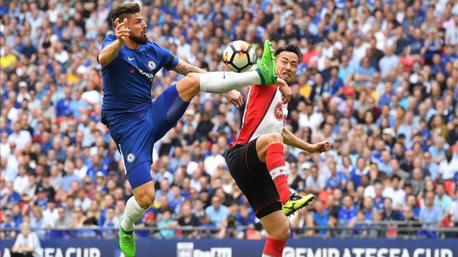 Giroud y Morata guían al Chelsea a la final de la FA Cup