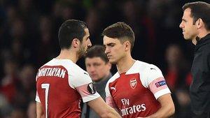 Denis no está teniendo protagonismo en el Arsenal
