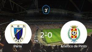 Derrota del Atlético de Pinto ante el Parla (2-0)