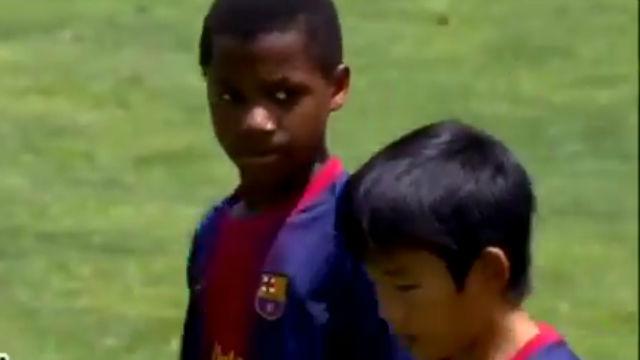 El día que Kubo asistió a Ansu para que marcara un golazo