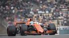 Espectacular actuación de Alonso hasta su retirada