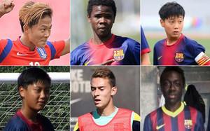 Esta es la situación de los canteranos del FC Barcelona sancionados por la FIFA
