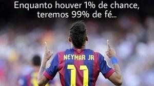 Este es el mensaje de Neymar