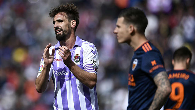 Estos son los goles de la polémica victoria del Valencia en Valladolid