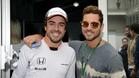 Fernando Alonso y David Bisbal