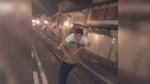 La fiesta de Redding y Márquez por las calles de Japón