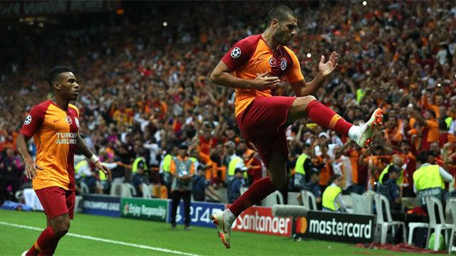 El Galatasaray golea al Lokomotiv
