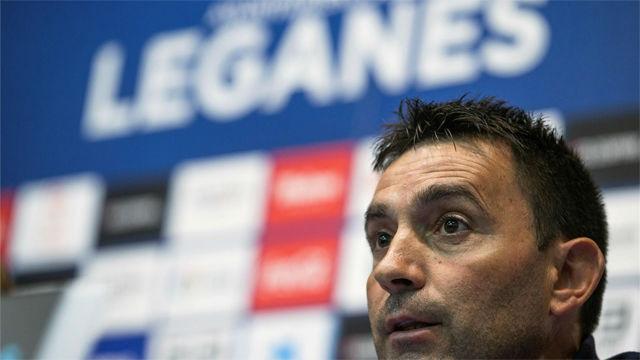 Garitano se despide como entrenador del Leganés