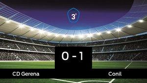El Gerena cae frente al Conil (0-1)
