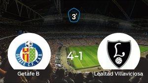 El Getafe B logra su ansiado ascenso a Segunda División B tras ganar el partido de vuelta (4-1)