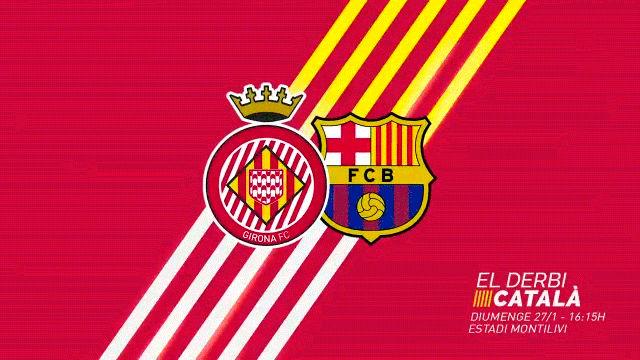 Girona saca pecho en el vídeo promocional del derbi catalán