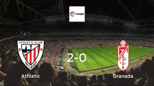 Granada suffers defeat against Athletic with a 2-0 at San Mamés