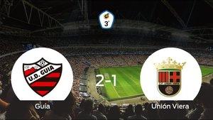 La UD Guía consigue la victoria en casa ante el Unión Viera (2-1)