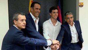 Ignacio Alabart seguirá de azulgrana