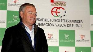 Javier Clemente, actual seleccionador de Euskadi