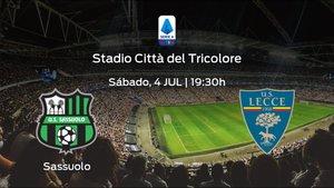 Jornada 30 de la Serie A: previa del partido Sassuolo - US Lecce