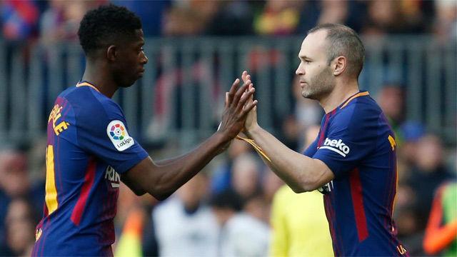 LALIGA | FC Barcelona - Athletic (2-0): Iniesta salió en el segundo tiempo