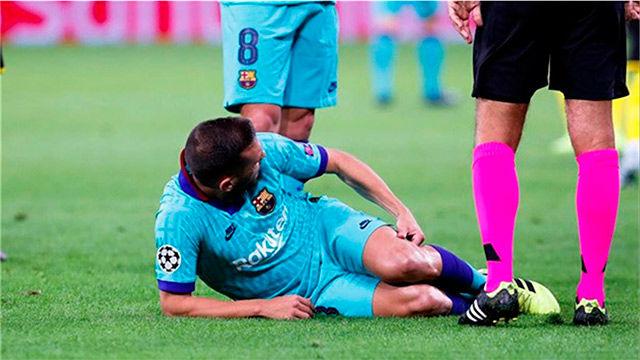 Las 16 lesiones del Barça esta temporada
