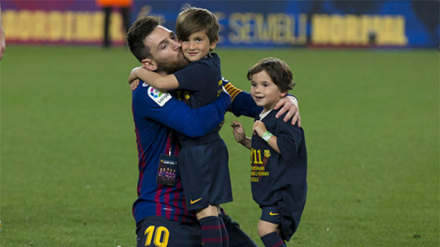 Messi on son Mateo: