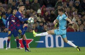 Liga Campeones, FC Barcelona, 0 - Slavia Praga, 0