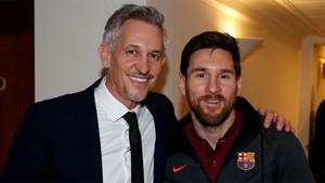 Lineker, encantado de conocer a Messi