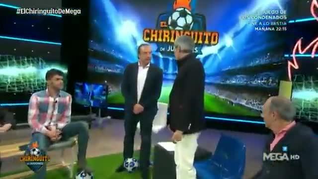 Lobo Carrasco sorprendido por la acción de Dembélé