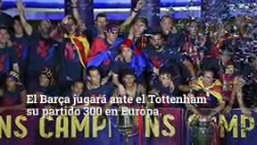 Los datos más curiosos de los 300 partidos del Barça en Europa