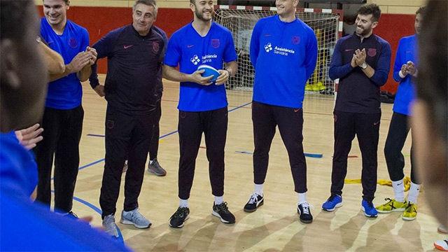Los mejores profesores posibles: la lección del Barça de balonmano