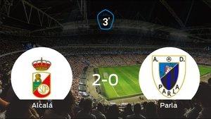 Los tres puntos se quedan en casa: RAlcalá 2-0 Parla