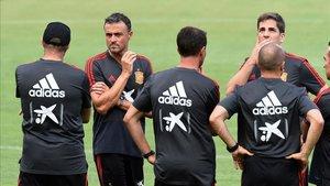 Luis Enrique y Robert Moreno no volverán a hacer tándem en la selección