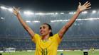 Marta habla poco antes de la vuelta de los cuartos de final de la Champions League