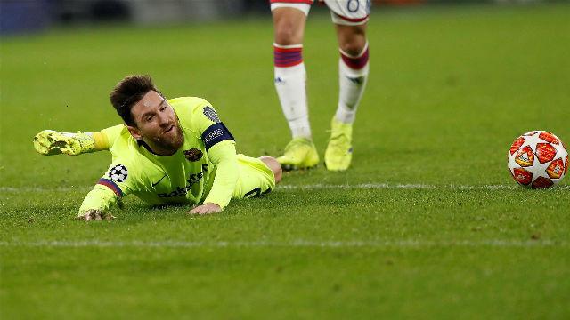 Messi no tuvo su mejor noche