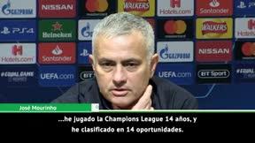 Mourinho manda un mensaje a sus amantes