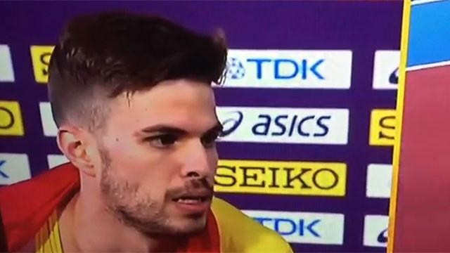 Óscar Husillos pierde el oro en 400 metros tras ser descalificado