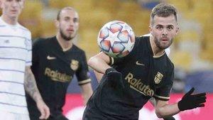 Pjanic jugó en el último partido ante el Dinamo de Kiev