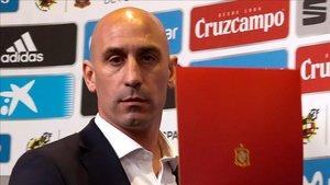 El presidente de la RFEF, Luis Rubiales, ya ha puesto fecha al sorteo de Copa