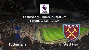 Previa del duelo de la jornada 36: Tottenham Hotspur contra West Ham