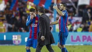 Quique elogió a Leo Messi